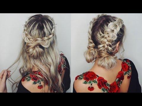 Increibles Peinados De Moda Tutorial 2018 2019 Beautiful Hairstyles Compilation