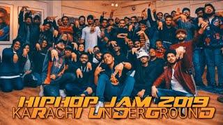 Karachi Underground || Hip Hop Jam 2019 || Dj Abdur || Dj_Lucky || RapThor & Other Hip Hop Artists