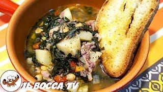515 - Zuppa di lampredotto...primo piatto assai ghiotto! (primo di terra autunnale toscano facile)