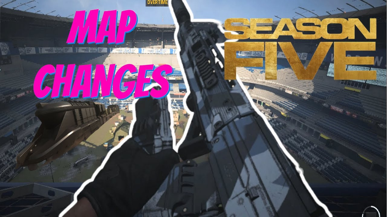 All New Map Changes In Warzone Season 5 Call Of Duty Modern