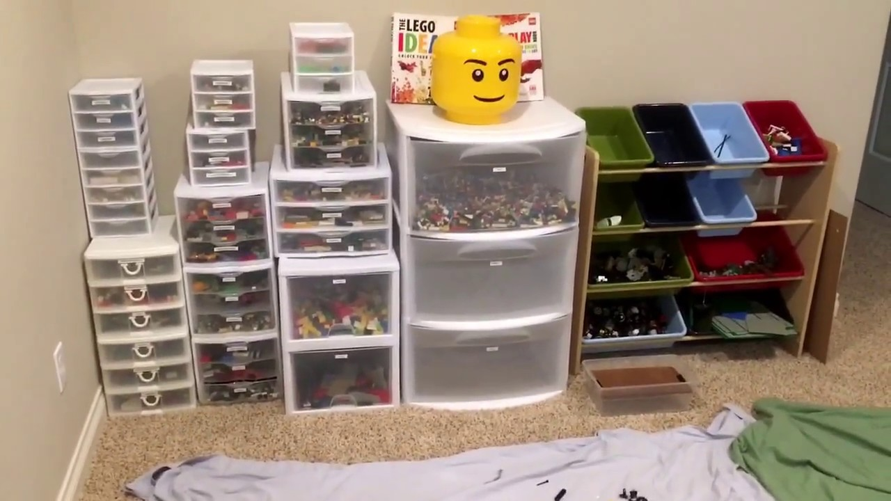 LEGO Storage And Organization System For Parents And Kids