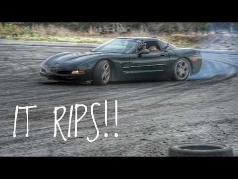 C5 Corvette First Drift Event!! | Event #1