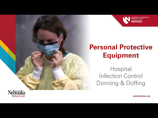 Hospital PPE - Infection Control: Donning and Doffing ...