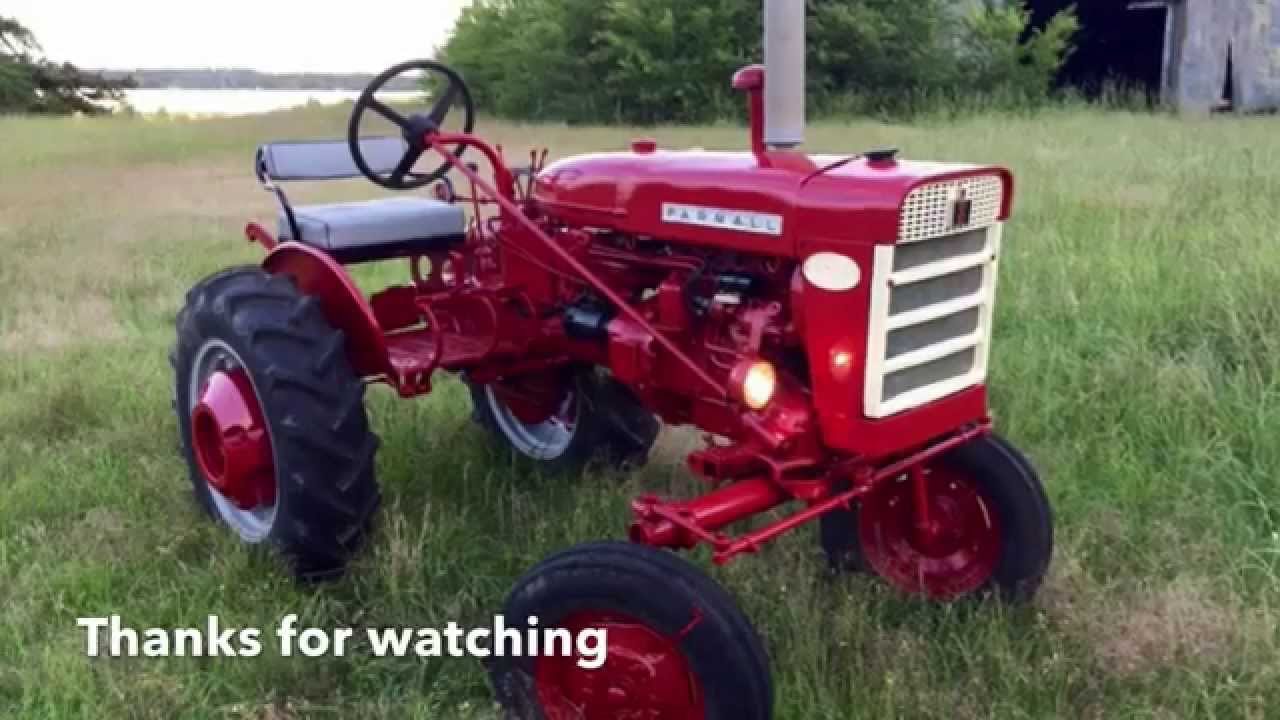 Farmall 140 Tractor : Farmall tractor attachments refurbished youtube