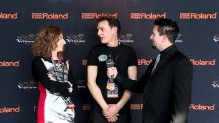 #04 Marco Conesta Interview; V-Drums World Championship 2012