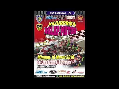 Event Baru Tulungagung ! BALAP MOTOR GOR LEMBU PETENG