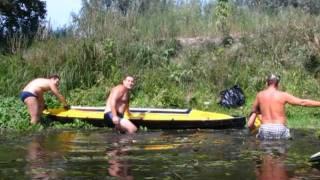 Видео байдарки Ворскла(Это путешествие не могло не запомниться., 2011-09-16T20:00:18.000Z)