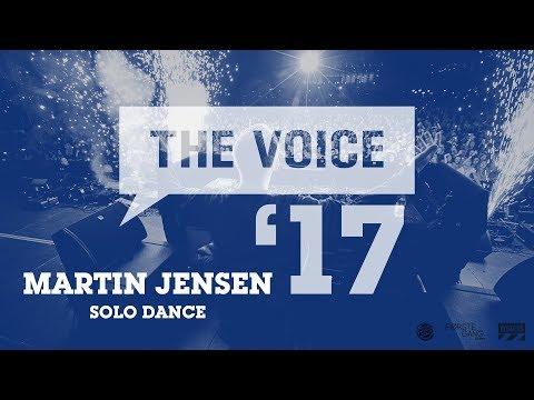 Martin Jensen  Solo Dance   The Voice 17