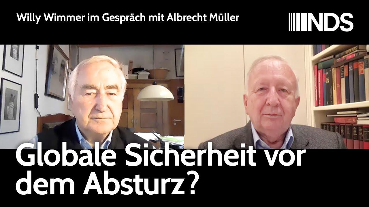 Willy Wimmer im Gespräch mit Albrecht Müller: Globale Sicherheit vor dem Absturz?