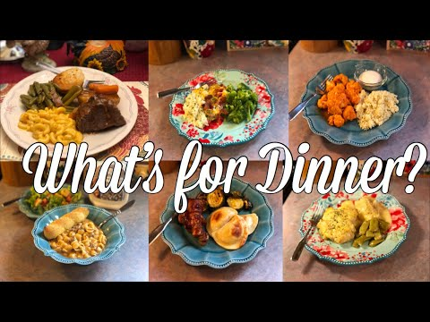 What's For Dinner?| Easy & Budget Friendly Family Meal Ideas| July 29th - August 4th, 2019