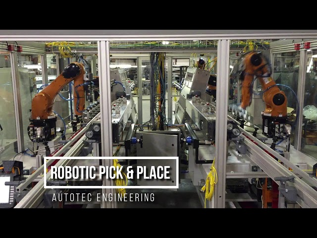 Robotic Pick & Place | Autotec Solutions
