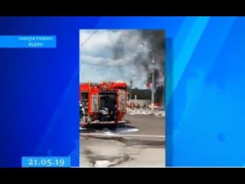 ТРК ВіККА: Двоє черкащан постраждало під час пожежі на житомирській заправці