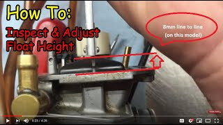 float height inspection and adjustment the right wrong way demo on yz250f