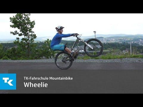 TK-Fahrschule Mountainbike - Wheelie