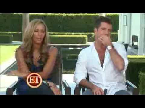 Leona Lewis with Simon Cowell [Interview] [ET!]