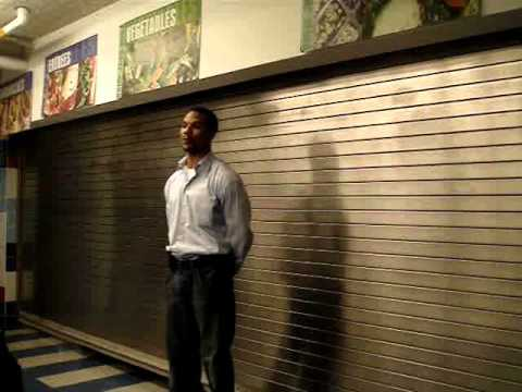 George Letrell speaks at Bedford Academy High School October 2010 ...