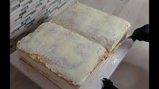 3Д торт КНИГА часть1 СБОРКА торта с 2мя разными начинками Торт Рафаэлло и торт Клубничное мороженое