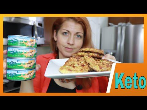 How I Make Tuna Patties   HIGH PROTEIN Keto Tuna Cakes Recipe