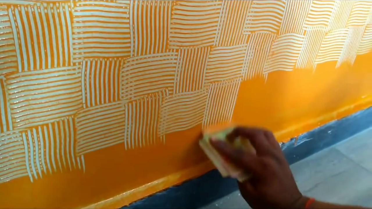 Wall Painting Royal Play Combing Interior Design