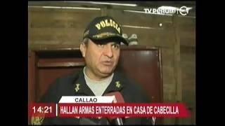 HALLAN ARMAS DE GUERRA TV PERU