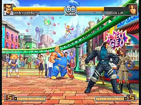 KOF 2002 UM K' Team COMBO MOVIE