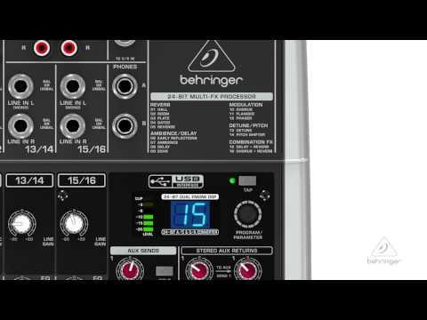 XENYX X2442USB 24-Input 4/2-Bus Mixer & USB Interface