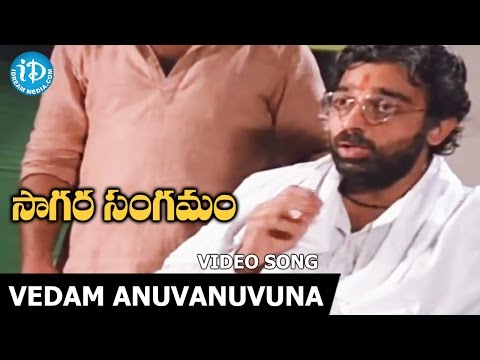 Vedam Anuvanuvuna Song - Sagara Sangamam Movie Songs - Kamal Haasan - Jayaprada - S P Sailaja