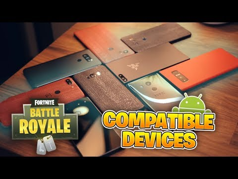 Fortnite Mobile Compatible ANDROID Phones