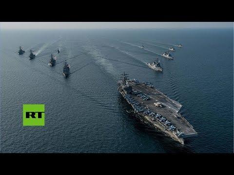 EE.UU. y Corea del Sur inician maniobras navales en la península coreana