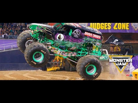 Monster Jam in Millennium Stadium - Cardiff, Wales - Full Show