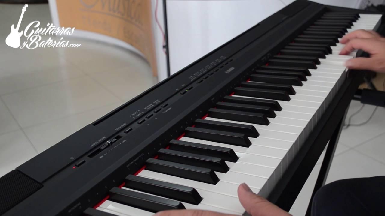 piano digital yamaha p115 demostracion de sonido youtube. Black Bedroom Furniture Sets. Home Design Ideas