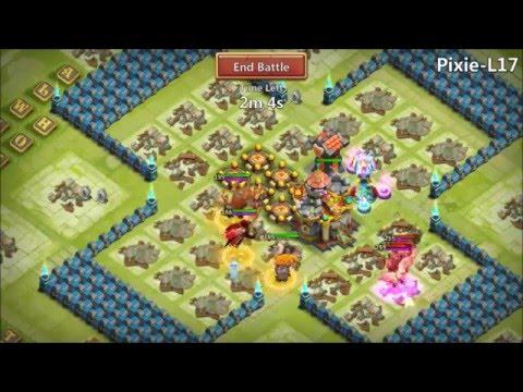 Hero Trials L17 Nice Rewards 6 Double Evolved Heroes Castle Clash