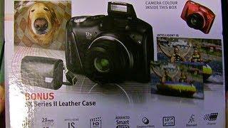 Canon Powershot SX150 IS unboxing