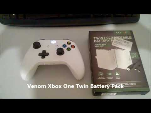 XBOX ONE VENOM Rechargeable Battery Twin Pack  -  VENOM Twin Battery Pack Ricaricabile