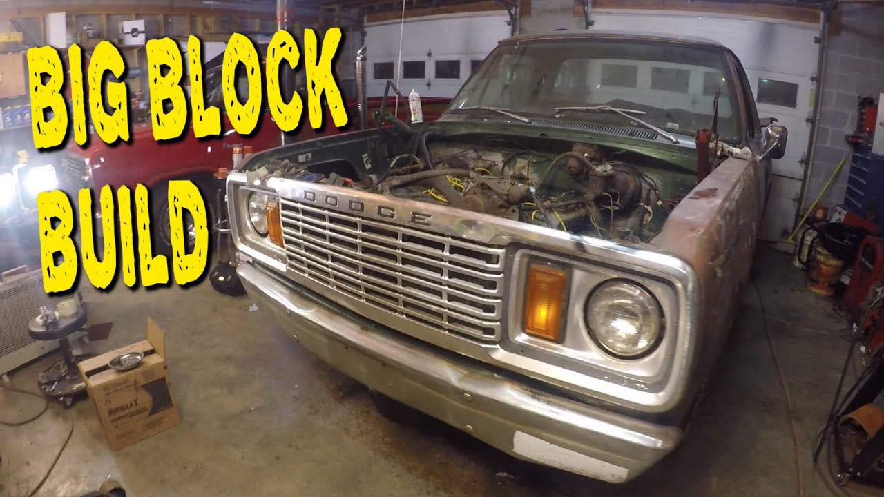 RATTY MUSCLE TRUCK Big Block Build