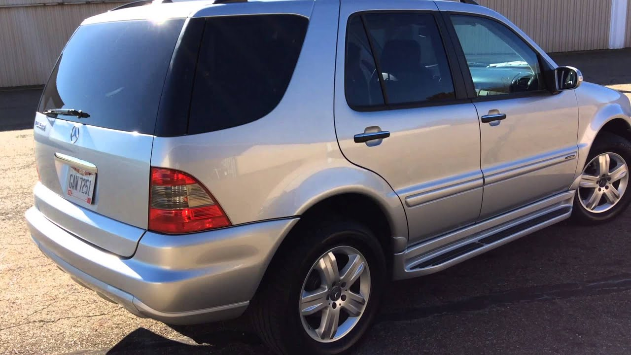 2005 mercedes benz ml350 youtube for 2005 mercedes benz suv