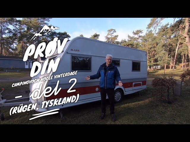Prøv din campingvogn nogle vinterdage - del 2 (Rügen, Tyskland)