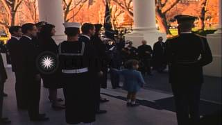 Video Funeral procession of John Kennedy leaving White House to reach Capitol. HD Stock Footage download MP3, 3GP, MP4, WEBM, AVI, FLV Agustus 2018
