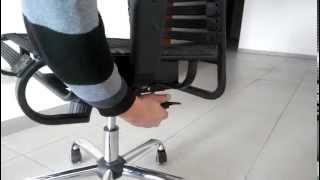 Обзор кресла Extreme, Halmar механизм качания Tilt (МеблиХит)