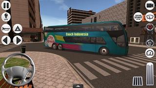 Coach Bus Simulator Bus Tingkat Mewah SDD | Game Simulator Android