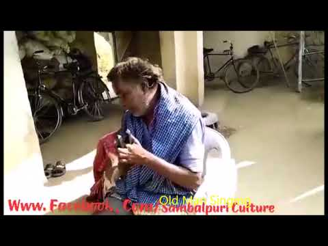 Krushna Guru Sambalpuri Kirtan by Old Man !Old Man Singing