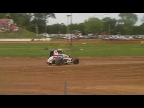 MSCS Sprint Car Heat 1 Paragon Speedway 5/31/19
