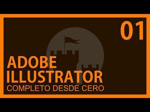 Adobe Illustrator Cap. 1 Conceptos,Secciones herramientas, Atajos editables @ADNDC @adanjp