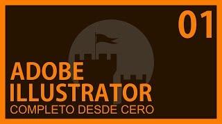 Adobe Illustrator Cap. 1 Conceptos,Secciones herramientas, Atajos editables @ADNDC @adanjp thumbnail
