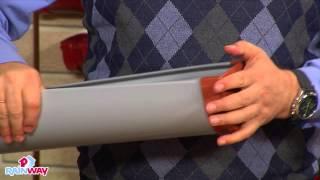 Монтаж водосточной системы RainWay(Видео урок монтажа водосточной системы RainWay: как установить водосток самостоятельно и что для этого потреб..., 2014-08-19T07:51:13.000Z)
