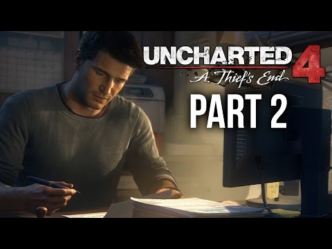 Uncharted 4 Gameplay Walkthrough Part 2 - A NORMAL LIFE (Chapter 4)