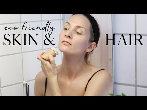 Eco-friendly and mindful hair & skincare routine | Less waste series