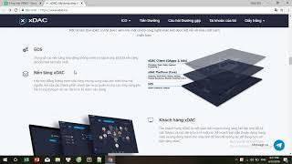 XDAC ICO REVIEW - Công ty tự quản phân cấp được tạo ra và vận hành trên nền tảng xDAC