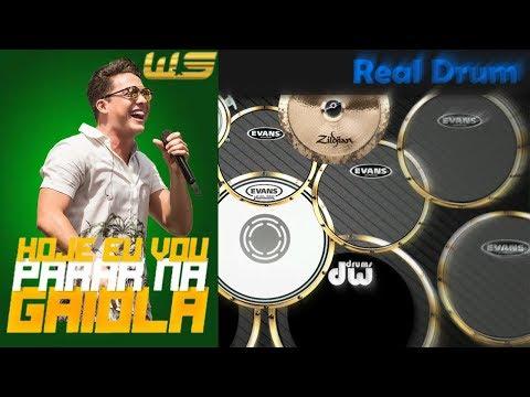 Real Drum 🎶 Hoje eu vou parar na gaiola- Wesley safadão 🎶 Nilkson Drummer