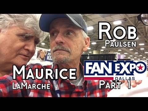 Rob Paulsen and Maurice LaMarche panel @ Expo Dallas  **Part 1**